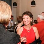 Mrs. Williams enjoying the VIP Reception