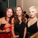 Navy Leaguers Lorna, Courtney, and Lauren