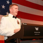 Guest-of-Honor Rear Admiral Charlie Williams