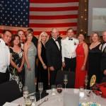 Some VIPs enjoying the 240th Navy Ball!