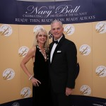 Mr. Blair Hall and his wife, Valerie Brandt