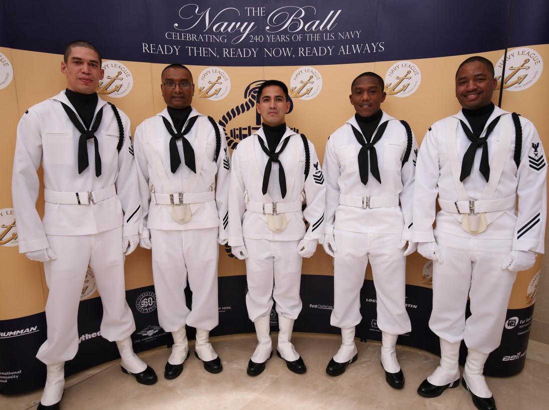 U.S. Navy colorguard