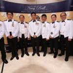 Officers of the Singapore Navy