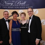 Toni Dudsak and Anne Morgan of AAS and their dates