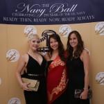 Navy Leaguers Lauren, Lorna, and Courtney