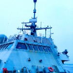 The USS Fort Worth is one of the most technologically advanced ships in the water today