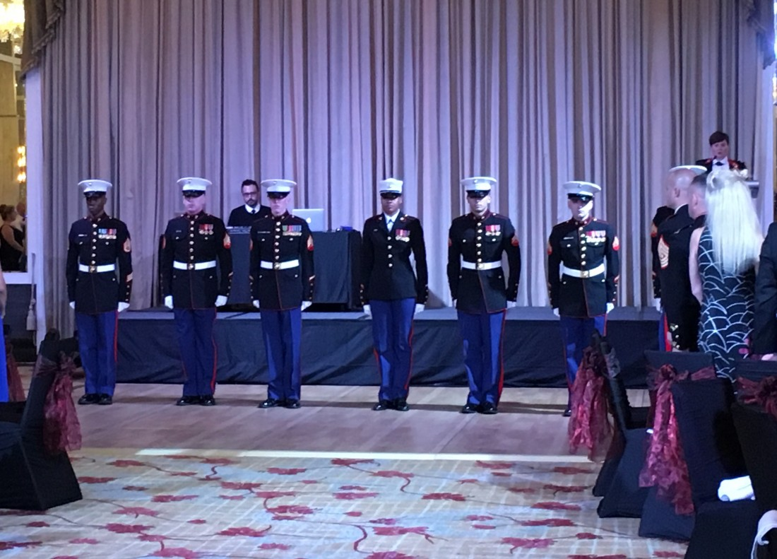Recognition of the Marines