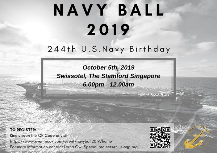 NLUS Singapore | Navy Ball 2019 Ticket Sale